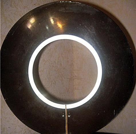 Телевизионная антенна из диска от накопителя для больших ЭВМ