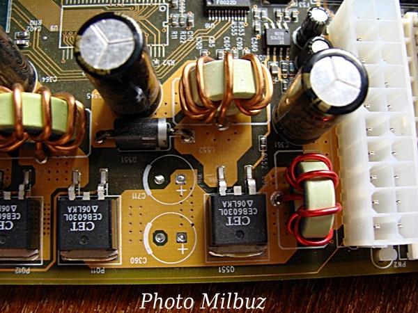 демонтаж электролитических конденсаторов