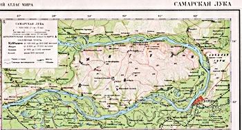 карта Cамары, загадки космоса